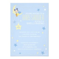 Baby Mickey Mouse Baby Shower Invitation Card