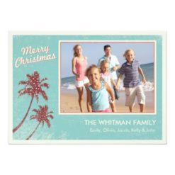 Beach Christmas Cards Invitation Card