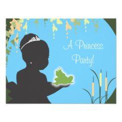 Birthday Invitation - Princess & Frog Invitation Card
