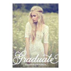 Bold Script 2 | 2014 Graduation Party Invitation Card