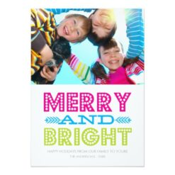 Bright Holiday | Holiday Photo Card Invitation Card
