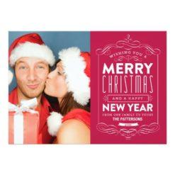 Chalkboard Holidays | Holiday Photo Card Invitation Card