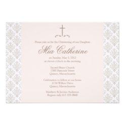 Christening / Baptism Invitation - Personalize Invitation Card