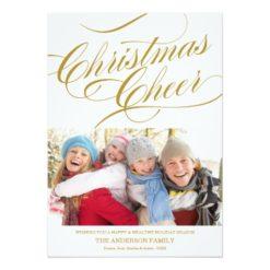 Christmas Cheer | Holiday Photo Card Invitation Card