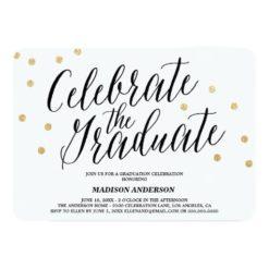 Confetti Grad | Graduation Invitation Card