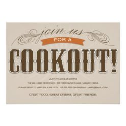 Cookout | Summer Party Invitation Card