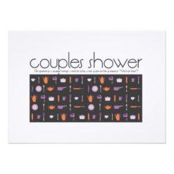 Couples Shower Invitation - Kitchen Invitation Card