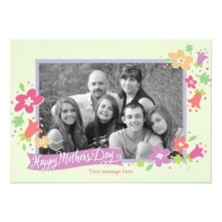 Dotted Swiss Mother'S Day Greeting Card Invitation Card