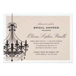 Elegance | Bridal Shower Invitation Card