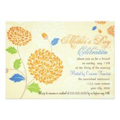 Elegant Modern Mother'S Day Celebration Brunch Invitation Card