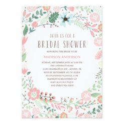 Flower Garden | Bridal Shower Invitation Card