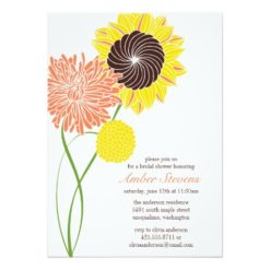 Garden Blossoms Shower/Party Invitation Card