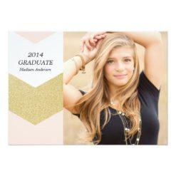 Glitter Collection | Graduation Announcement Invitation Card