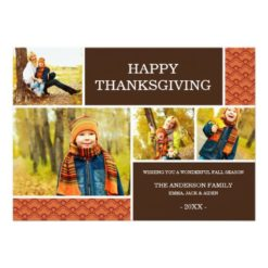 Gobble Gobble | Thanksgiving Photo Card Invitation Card
