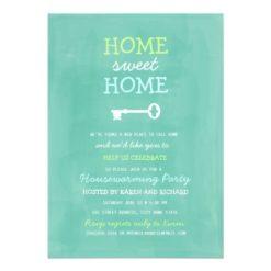Home Sweet Home Housewarming Invitation Card