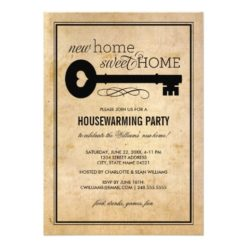 Housewarming Party | New Home Sweet Home Invitation Card