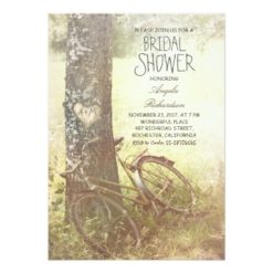 Love Tree Rustic Country Bridal Shower Invitation Card