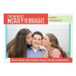 Merry And Bright Invitation Card