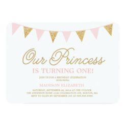 Our Princess | Birthday Invitation Card