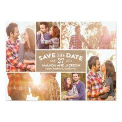 Photo Showcase Save The Date - Craft Invitation Card