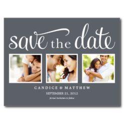 Retro | Save The Date Announcement Postcard