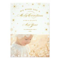 Sparkle | Holiday Photo Card Invitation Card