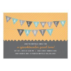 Spooktacular Halloween Party Invitation Card