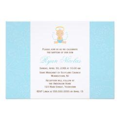 Sweet Baby Christening Invitation Card