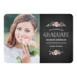 Sweet Floral | Graduation Party Invitation Card