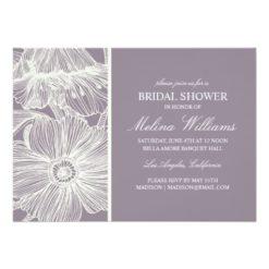 Vintage Garden | Bridal Shower Invitation Card