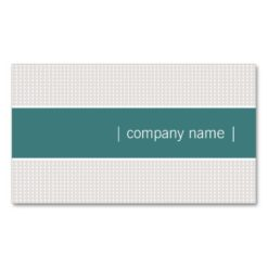 Modern Chic Business Cards (Teal)