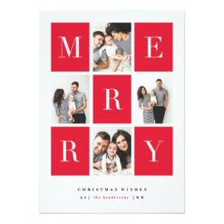 Merry Wishes   Christmas Card