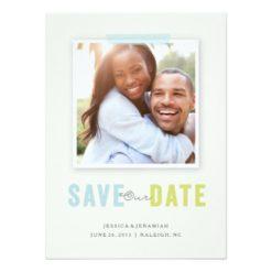 Photo Album Photo Save The Date Card