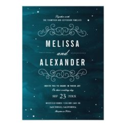 Stargazer Wedding Invitation