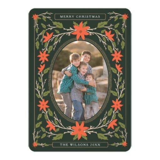 Storybook 2 Photo Christmas Invitation Card