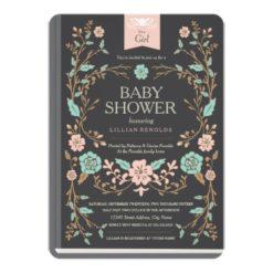 Vintage Storybook Baby Shower Invitation Card