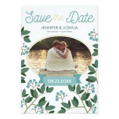 Brambleberry Save The Date Invitation Card