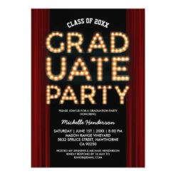 Musical Graduation Party Invite | Class Of 2016