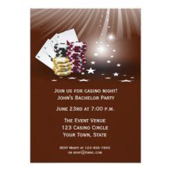 Casino Event Card