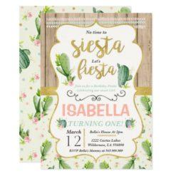 Fiesta Birthday Invitation Fiesta 1st Birthday