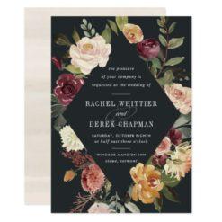 Moonlight Garden Wedding Invitation