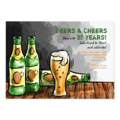 Bottles of Beer Invitation