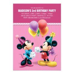 Mickey & Minnie | Birthday Card