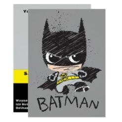 Mini Classic Batman Sketch Card