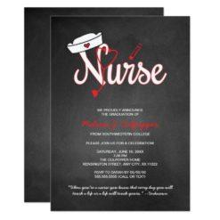 Nurse graduation invitation party pinning ceremony