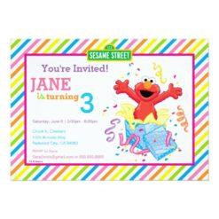 Sesame Street | Elmo Girl's Birthday Card