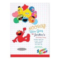 Sesame Street | Elmo and Pals - Birthday Balloons Card